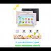 "XGODY Android Tablet PC 10.1"" Zoll 4-core WLAN 2SIM 3G 1+16GB Kinder Geschenk DE(black)"