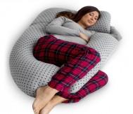PharMeDoc U-Shape Full Body Pregnancy Pillow + Detachable Extension