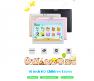 "XGODY Android Tablet PC 10.1"" Zoll 4-core WLAN 2SIM 3G 1+16GB Kinder Geschenk DE(black)"