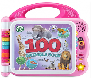 LeapFrog 100 Animals Book (Frustration Free Packaging), Pink