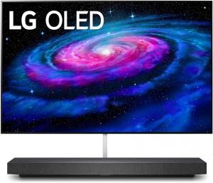 "LG OLED65WXPUA Alexa Built-In WX 65"" Wallpaper Design 4K Smart OLED TV (2020)"