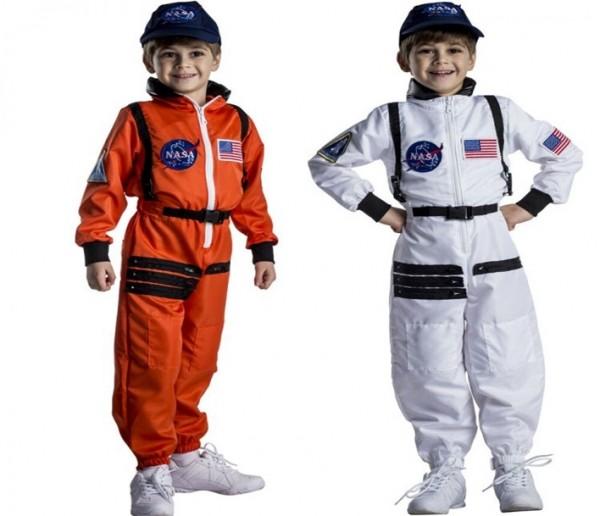 Attractive Kid's NASA Explorer Astronaut Space Suit Costume